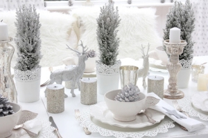 decoration de table christmas