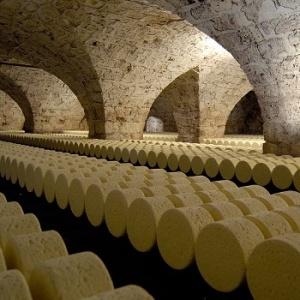 Les caves Roquefort Ste. Aveyron
