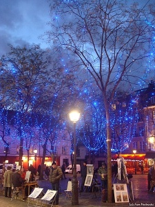 Montmartre, New Year